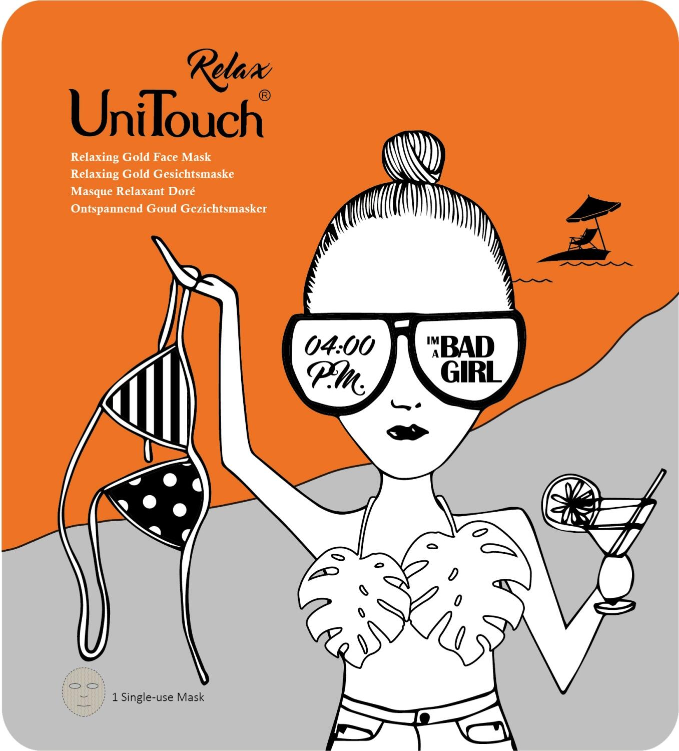 UNITOUCH Relaxing Gold Face Mask