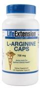 Life Extension L-Arginine Caps 700mg